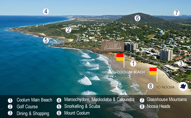 The best Coolum Beach holiday accommodation