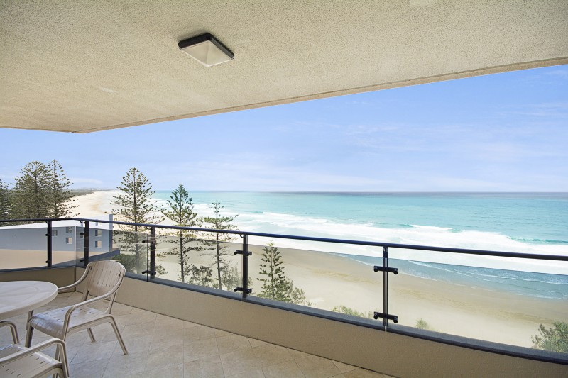Balcony views at Coolum on the Sunshine Coast