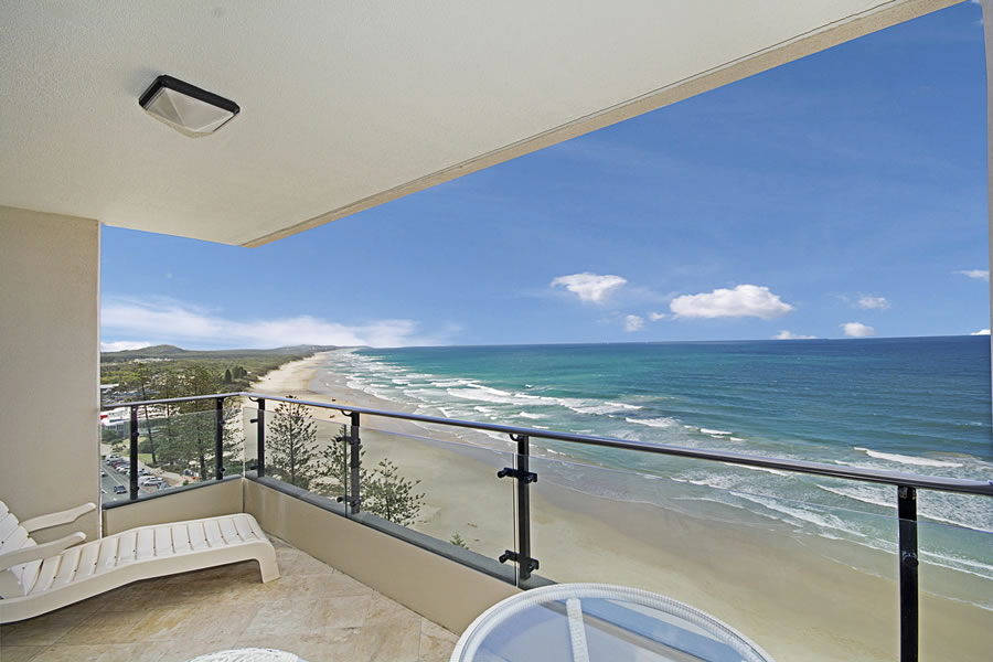 Coolum Beach resort apartment views