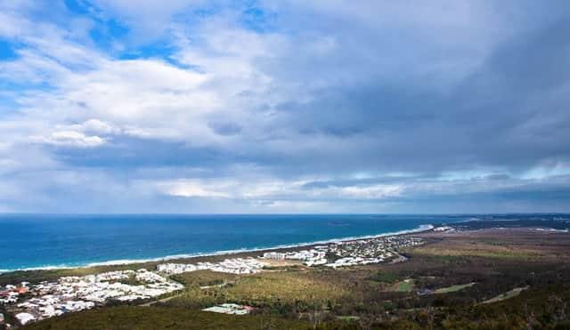 Mount Coolum Beach views